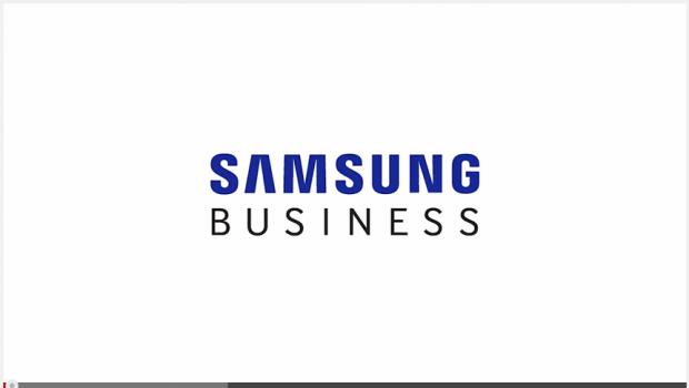 Samsung-Auftritt on the CeBIT 2015